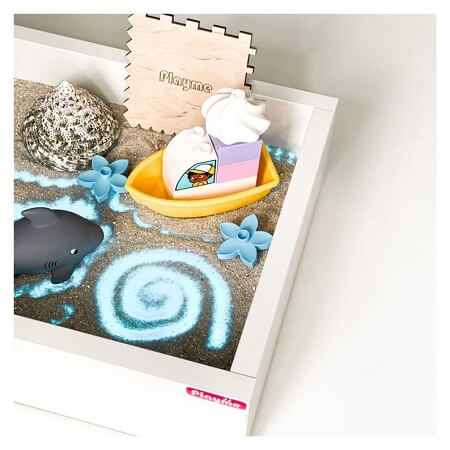 mini light table for sand drawing
