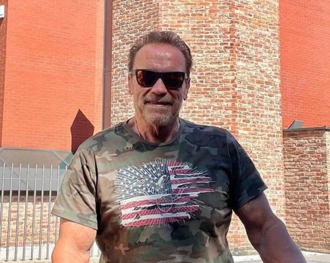 Arnold Schwarzenegger tells anti-maskers: