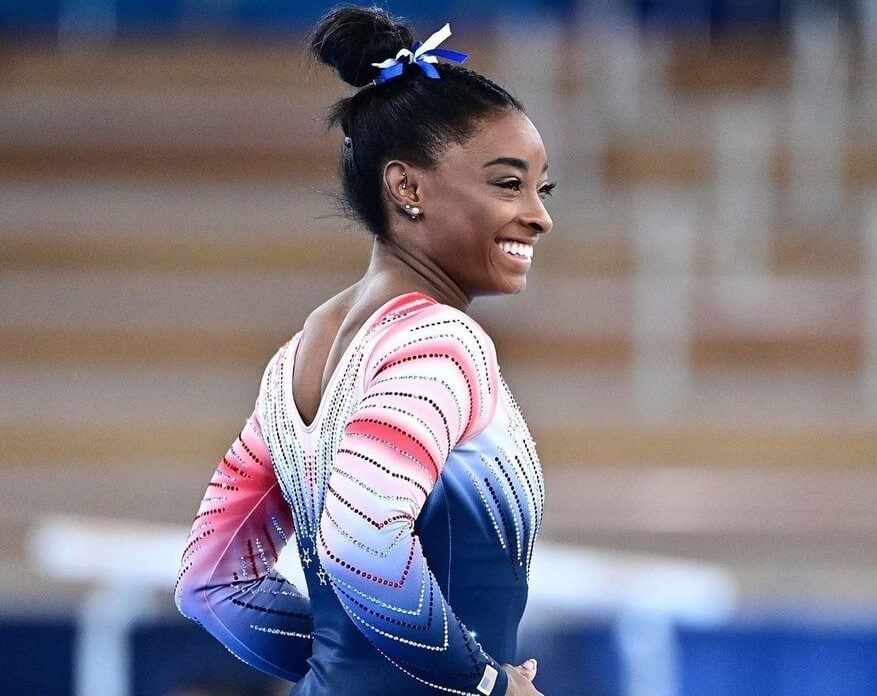 Simone Biles shares her impressions of participating in the Olympics and advises on mental health