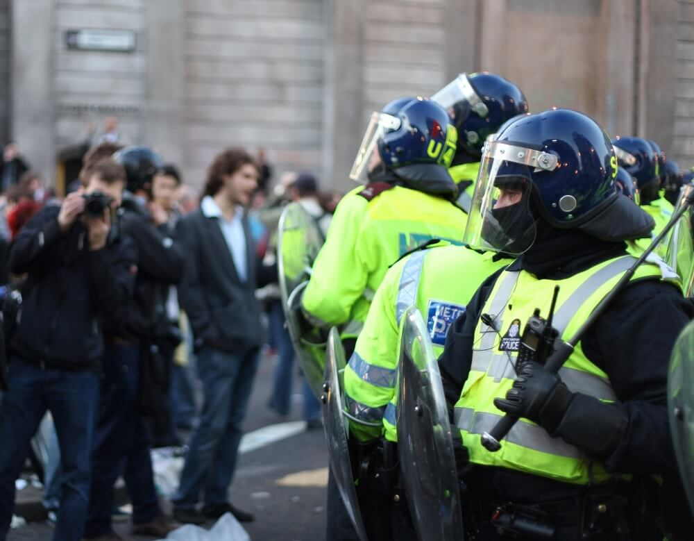 Mass vaccination protests relocate to Google UK offices