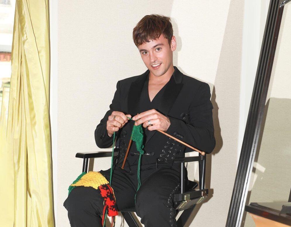 Tom Daley took knitting on his Met Gala debut!